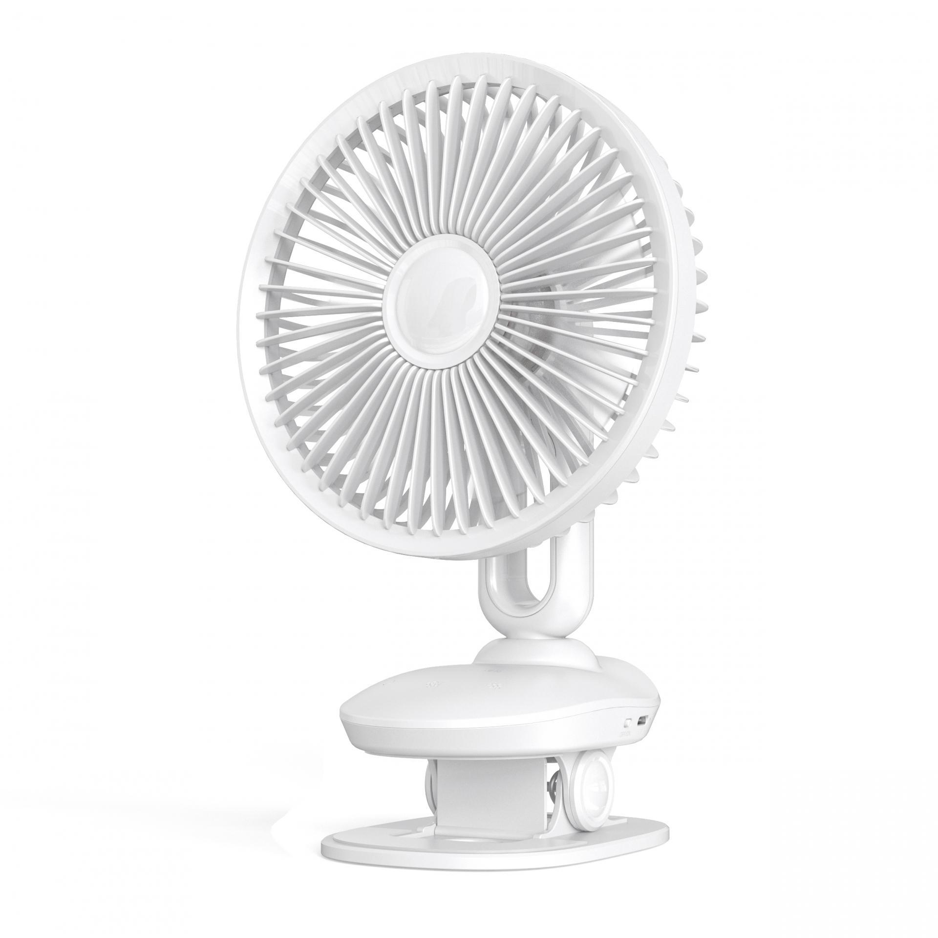 F8 Oscillating Desk Clip Fan